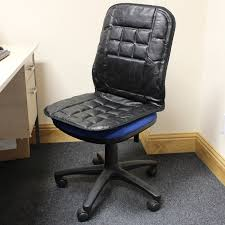 Leather Chair Cushions And Pads Seat Back Cushion Office Chair Home Design Ideas For Purchasing