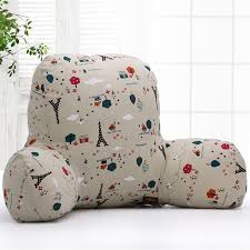 aliexpress com buy bed reading cushion with arm support watch tv
