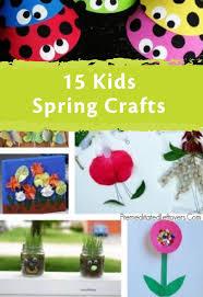 213 best kid crafts for spring images on pinterest crayon crafts