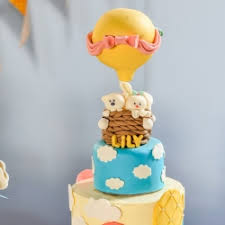hot air balloon cake topper how to make hot air balloon cake topper tastespotting
