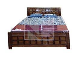 wood box bed