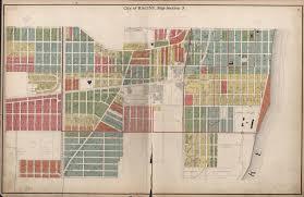 Kenosha Map City Of Racine Map Section 3 Racine History