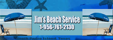 chair rental island jim s service umbrella chair rentals south padre island