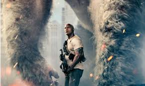big meets bigger in first u0027rampage u0027 poster trailer due later today
