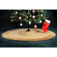 burlap tree skirt shop online burlap tree skirt 90 inches all jute