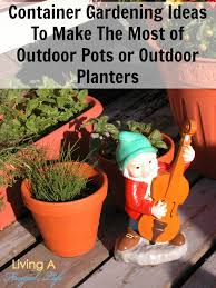 Outdoor Container Gardening Ideas Container Gardening Ideas To Make The Most Of Outdoor Pots Or Planters