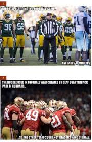 Packers 49ers Meme - things you may not have known about football football