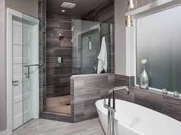 Modern Gray Tile Bathroom 50 Modern Small Bathroom Design Ideas Homeluf