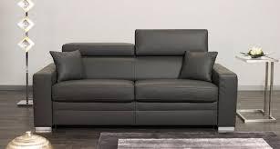 canapé lit cuir canape lit cuir intérieur déco