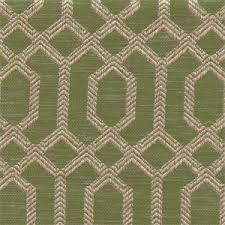 Fabric Upholstery Parquet Peridot Green Geometric Upholstery Fabric