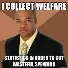 How To Get Welfare Meme - i collect welfare statistics in order to cut wasteful spending