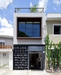 House With Studio Superlimao Studio Designed Urban House With Artistic Facade