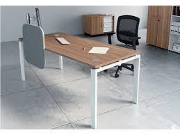 pied de bureau bureau avec pied métal a2 système poutre poste astro