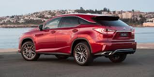 lexus rx 350 luxury package turbocharged lexus rx models receive new sports variants