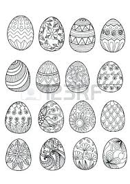 blank easter eggs easter egg coloring pictures subiekt info