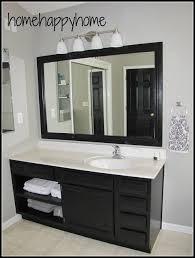 Black Bathroom Cabinet Bathroom Cabinet Painting Ideas