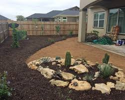 xeriscape 9 u2026 u2026 new home landscape with a cactus garden rhinamic