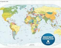 printable map of usa printable map etsy