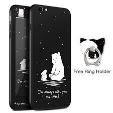 asian rabbit ring holder images New full cover protection iphone 7 8 plus free ring holder jpg