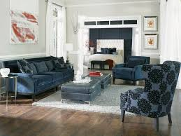 Navy Blue Sofa And Loveseat Rossdale U0027 Sofa Loveseat Chair U0026 Ottoman Accent Chairs