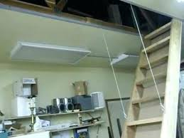 pull down attic stairs installation explore garage stairs garage