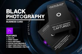 free business card templates for photographers black photography business card business card templates