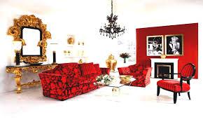red lacquer bamboo narrow vase decorative accessories home decor