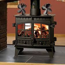 wood burning stove circulating fan amazon com sonyabecca heat powered stove fan with magnetic
