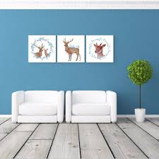 Nordic Home Compare Prices On Square Elk Wall Art Online Shopping Buy Low