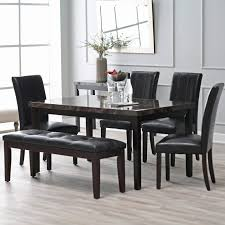Modern Glass Dining Table Dining Room Extendable Dining Table Dinette Sets Square Dining