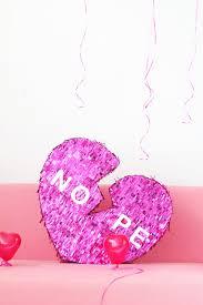 diy broken heart valentine u0027s day piñata