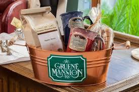 coffee baskets gruene mansion inn coffee basket baskets packages gruene