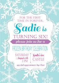 frozen birthday invitation wording frozen birthday invitation
