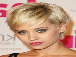 short hairstyles for round faces over 40 haircuts black