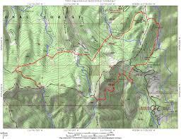 Map Of Southern Utah Rock Springs Trail