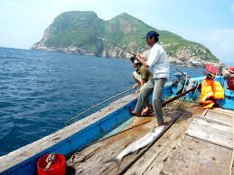 shark fishing in con dao island