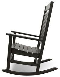 Outdoor Rocking Chairs For Heavy Amazon Com Ivy Terrace Ivr100bl Classics Rocker Chair Black