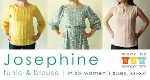 blouse sewing patterns josephine sewing pattern is here made by
