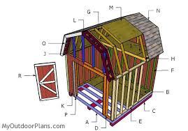 Free Barn Plans 12x12 Barn Shed Plans Myoutdoorplans Free Woodworking Plans
