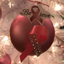 breast cancer awareness ornament once u0026 again