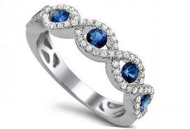 Sapphire Wedding Rings by Sapphire Engagement Rings Meaning