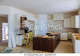 corner kitchen cabinet island installation of kitchen cabinet