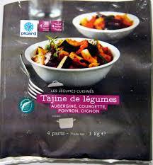 legumes cuisines tajine de légumes surgelé picard 1 kg