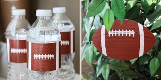 football baby shower end zone football baby shower decorations theme