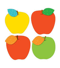 cut outs decorate your classroom with these apple designs cut outs can