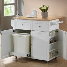 Kitchen Carts Islands Utility Tables Baxton Studio Meryland White Kitchen Cart With Storage 28862 5408