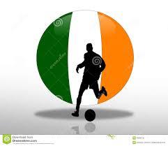 Flag Football Play Designer Irish Flag Football Soccer Logo Stock Illustration Image 4269216