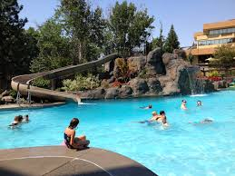 Biggest Backyard Pool by Red Lion Hotel At The Park Has An Awesome