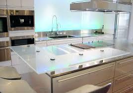 plan de travail cuisine en verre plan de travail snack cuisine plan de travail cuisine en verre