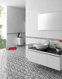 indoor mosaic tile bathroom floor stone blanche kale